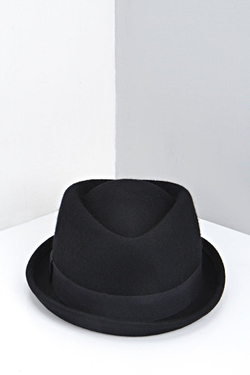 Boohoo Man - Wool Pork Pie Hat