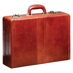 Mancini Signature - Leather Attache Case
