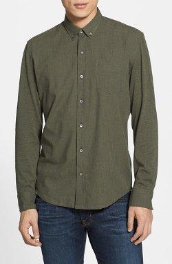 W.R.K  - Reworked Slim Fit Heathered Sport Shirt