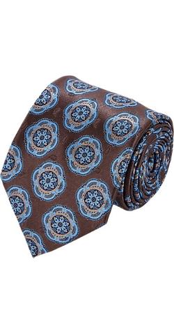 Ermenegildo Zegna - Medallion Silk Neck Tie