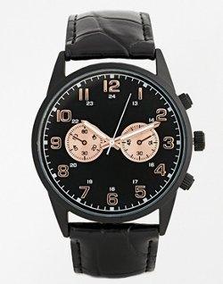 Asos - Rose Gold Detail Watch