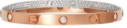 Cartier - Diamond Pave Love Bracelet