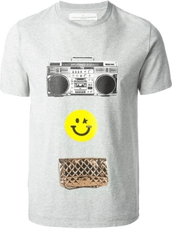 Golden Goose Deluxe Brand - Smiley Face Print T-Shirt