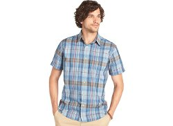 G.H. Bass  - Brushed Pine Madras Shirt