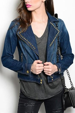 Kitsch - Denim Stud Jacket