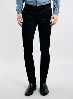 Topman - Black Ultra Skinny Dress Pants