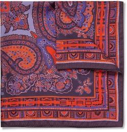 Etro - Paisley Print Silk Pocket Square