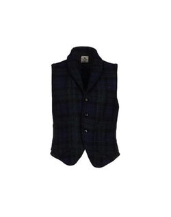 Alain - Plaid Lapel Vest