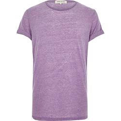 River Island - Light Purple Burnout T-Shirt