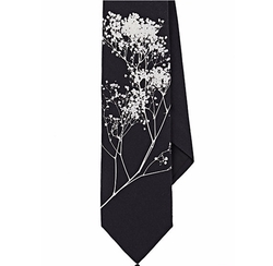 Givenchy - Branch-Print Cotton Necktie