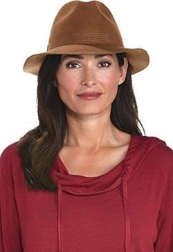 Coolibar - Wool Felt Fedora Hat