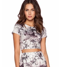 Lucca Couture - Cropped Top