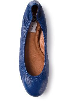 LANVIN - Round toe ballet flat