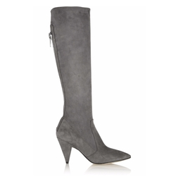 Sigerson Morrison - Flore Stretch-Suede Knee Boots
