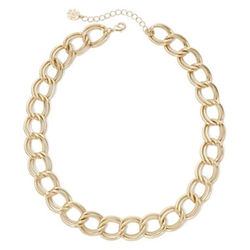 Monet - Double Flat-Link Collar Necklace