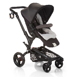 Jane® Rider  - Anodized Aluminum Stroller in Shadow