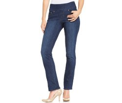 JAG Peri  - Straight-Leg Pull-On Jeans