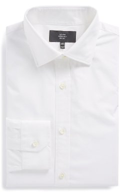 Jack Spade - Trim Fit Solid Dress Shirt