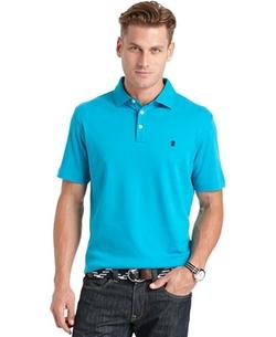 Izod - Solid Interlock Polo Shirt