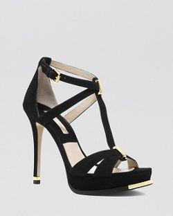 Michael Kors - Open Toe Platform Sandals