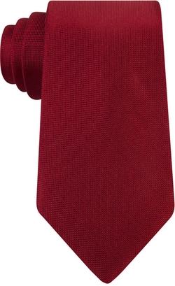 Calvin Klein - Spun Solid Slim Tie