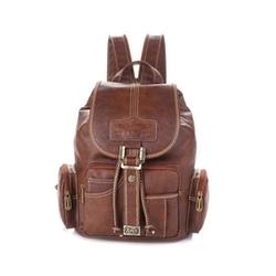 GreBago - Leather Fashion Travel Backpack