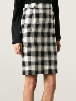 Pierre Cardin Vintage - Plaid Skirt