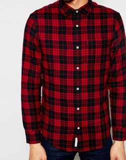 Original Penguin - Heritage Fit Plaid Shirt