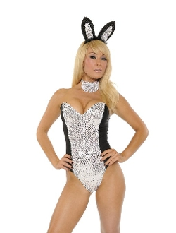 Nom de Plume - Playgirl Bunny Bodysuit Costume