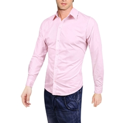 Allegra K - Round Hem Solid Color Shirt