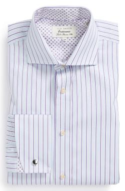 Ted Baker London  - Classic Fit Stripe Dress Shirt