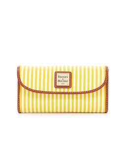 Dooney & Bourke - Stripe Collection Continental Clutch Wallet