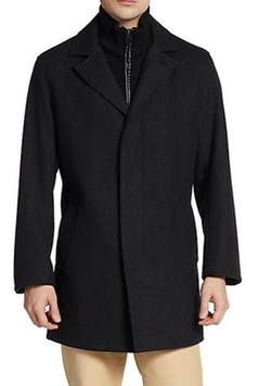 Cole Haan  - Melton Wool-Blend Coat