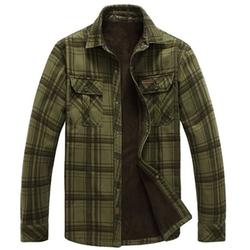 Nesth - Cotton Warm Plus Thick Velvet Jacket