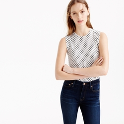 J. Crew - Cotton Jackie Shell Top
