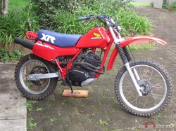 Honda - 1984 XR200R Motorcycle