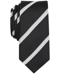 Penguin - Bluebell Stripe Skinny Tie