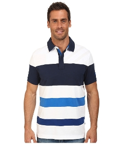 Nautica  - Short Sleeve Multi Media Polo Shirt