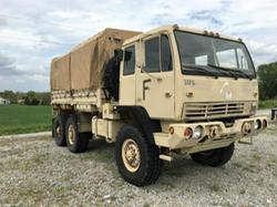 Stewart & Stevenson - M1028 6X6 Military Cargo Truck