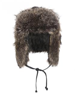 Crown Cap  - Raccoon Full Fur Russian Hat