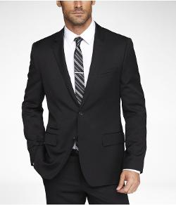 EXPRESS - STRETCH WOOL PHOTOGRAPHER SUIT JACKET