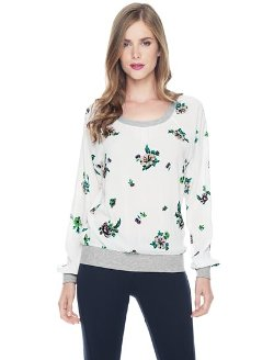 Ashbury  - Floral Pullover Sweater