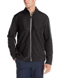 Pga Tour - Full Zip Long Sleeve Fleece Jacket