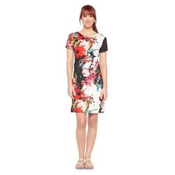 Studio One - Short Sleeve Sheath Dress