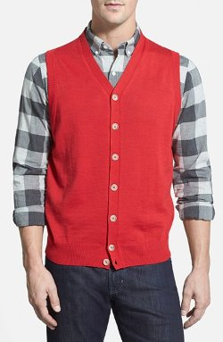 Thomas Dean - Merino Wool Sweater Vest