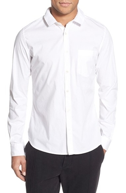 French Connection - Trim Fit Long Sleeve Sport Shirt