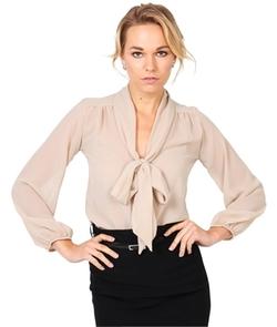 Krisp - Bow Tie Shirt