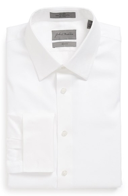 John W. Nordstrom - Trim Fit French Cuff Dress Shirt