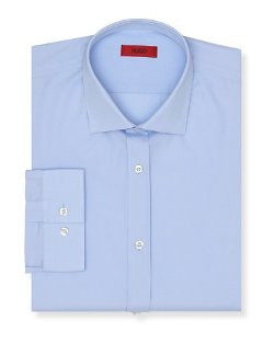 Hugo Enderson-X  - Broadcloth Solid Dress Shirt