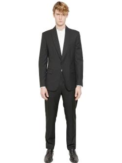 Maison Martin Margiela  - Wool Gabardine One Button Suit